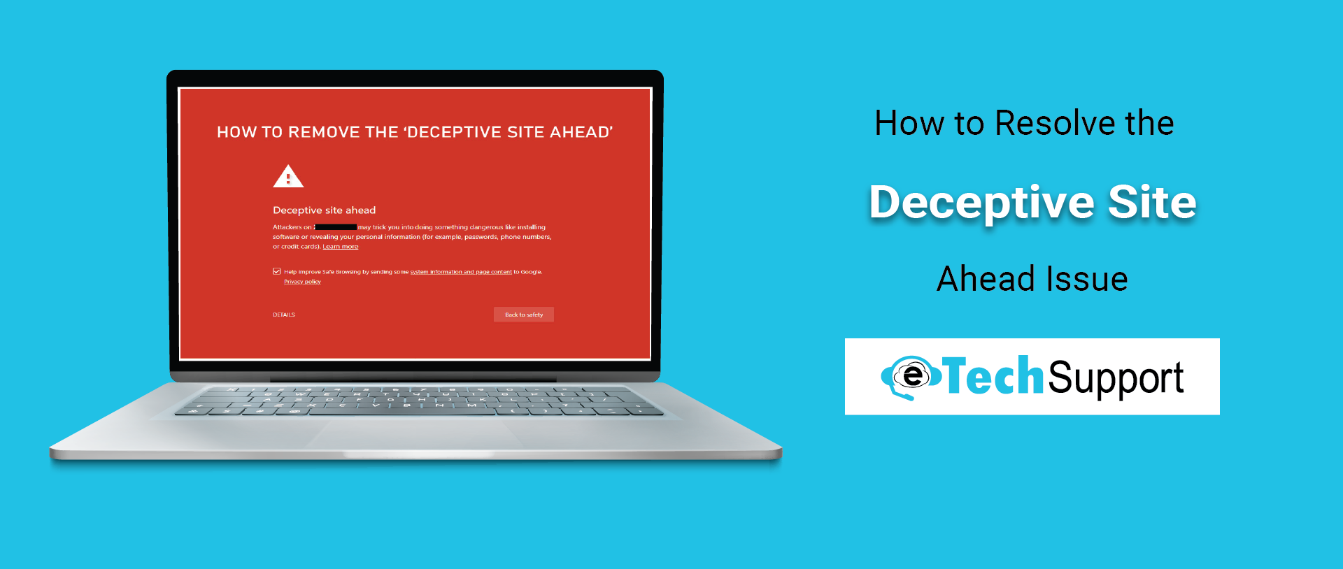 Deceptive-site-Ahead-Issue